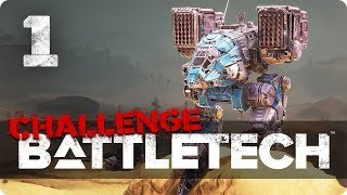 Challenge accepted! Hard mode ★ Battletech 2018 Campaign Playthrough (2) #1
