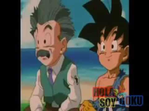 Goku se despide de Krillin por siempre (Dragon Ball GT Final)