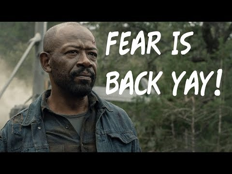 FEAR THE WALKING DEAD IS THE GREATEST JUST OKAY ZOMBIE ANYTHING.