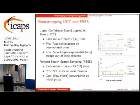 """ICAPS 2014: Truong-Huy Dinh Nguyen on """"Bootstrapping Simulation-Based Algorithms..."""""""