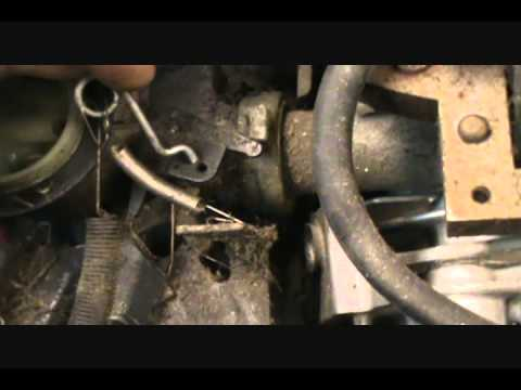 Briggs And Stratton Carb Adjustment Diagram Leeson 5 Hp Motor Wiring & Mower Over Reving - Youtube