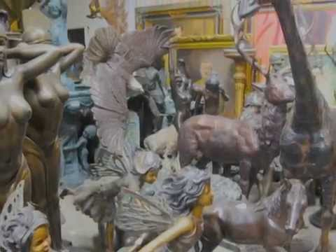 Canonbury Antiques - Architectural Bronzes Garden Antiques and Bronze Animals HD