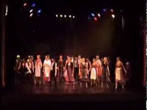 The Collette Tyler School of Dance 25th Anniversary Show Les Mis compilation