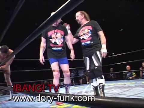 From Japan - Dory and Terry Funk vs Fuchi and Nishimura
