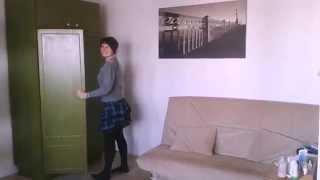видео Установка дверей купе в старый встроенный шкаф