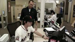 Major League Baseball 2K9 Xbox 360 Video - Tim Linecum Skit
