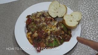 Baked Avocado Recipe - Tomato Cheese Melt