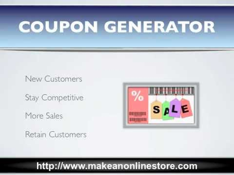 Coupon Generator - YT