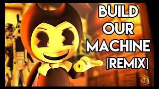 Песня Бенди и чернильная машина Анимация [Build Our Machine REMIX] Перевод / песня на русском