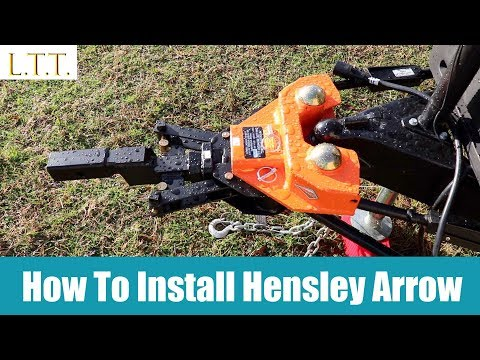 How to install Hensley Arrow Hitch