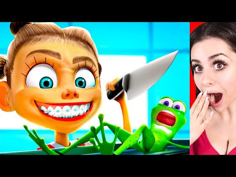 Reacting To FUNNY ANIMATIONS (YOU WILL LAUGH!)