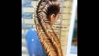 Косичка рыбий хвост видео. Как заплести косу рыбий хвост себе, самой?(Плетение косички рыбий хвост видео. «Косичка рыбий хвост» — онлайн видео раскрывающее технику «рыбий хвос..., 2015-02-02T18:12:17.000Z)