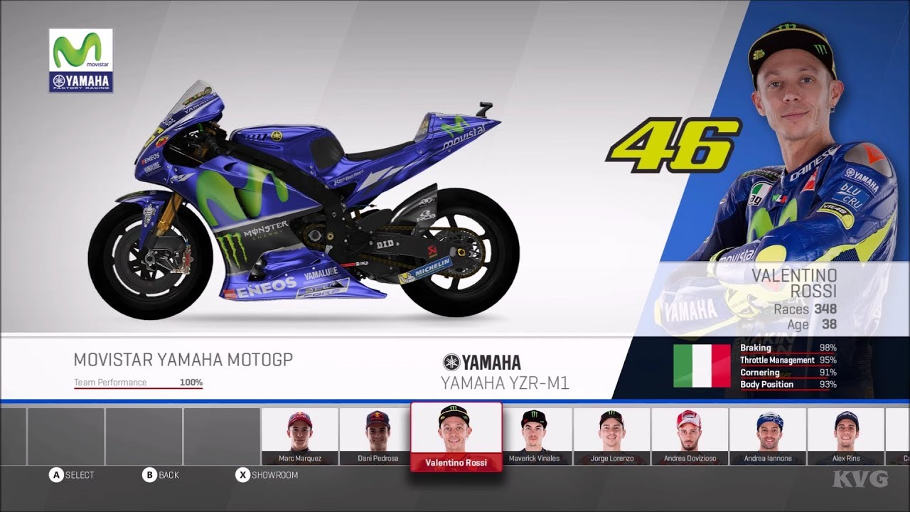MotoGP 17 - All Bikes & Riders | All Motorcycles - List (PC HD) [1080p60FPS] - YouTube
