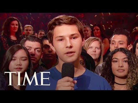 Florida Shooting Survivor Speaks Out At IHeartRadio Awards: 'We're Tired Of Politicians'' | TIME