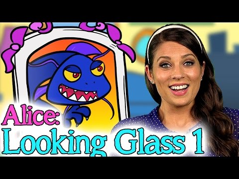 Alice Through The Looking Glass - Part 1 | Story Time With Ms. Booksy At Cool School