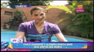 ¡Ampay! Paolo Guerrero y Alondra García Miró más juntos que nunca