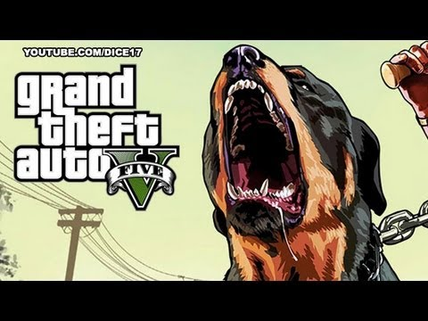 GTA 5 - Chop vs. Bear! (Who Wins?) - YouTube |Chop Gta 5