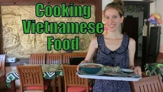 Vietnamese Cooking Class Lesson (pho, Cao Lau, Spring Rolls, Country Pancake) In Hoi An, Vietnam