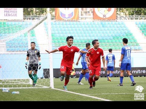 2018 Singapore Premier League: Young Lions 3-0 Hougang United FC