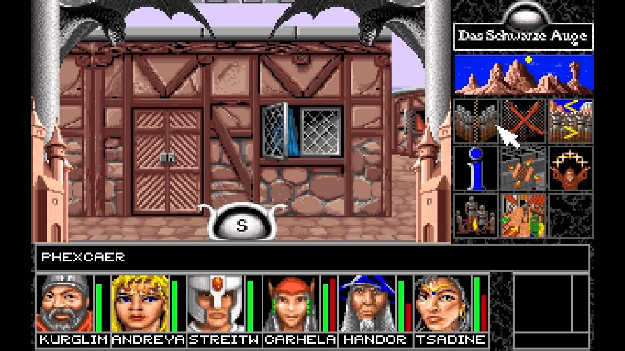 Let's Play Das schwarze Auge - Schicksalsklinge #64 (Goldener Obelisk, kleiner Mann, viele Tote