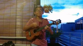 Evan's Ukulele - Tale As Old As Time/Beauty and the Beast (cover)
