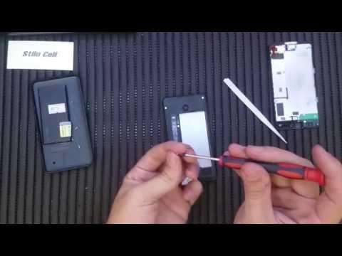 Nokia Lumia 630 troca do frontal (Touch e Display)