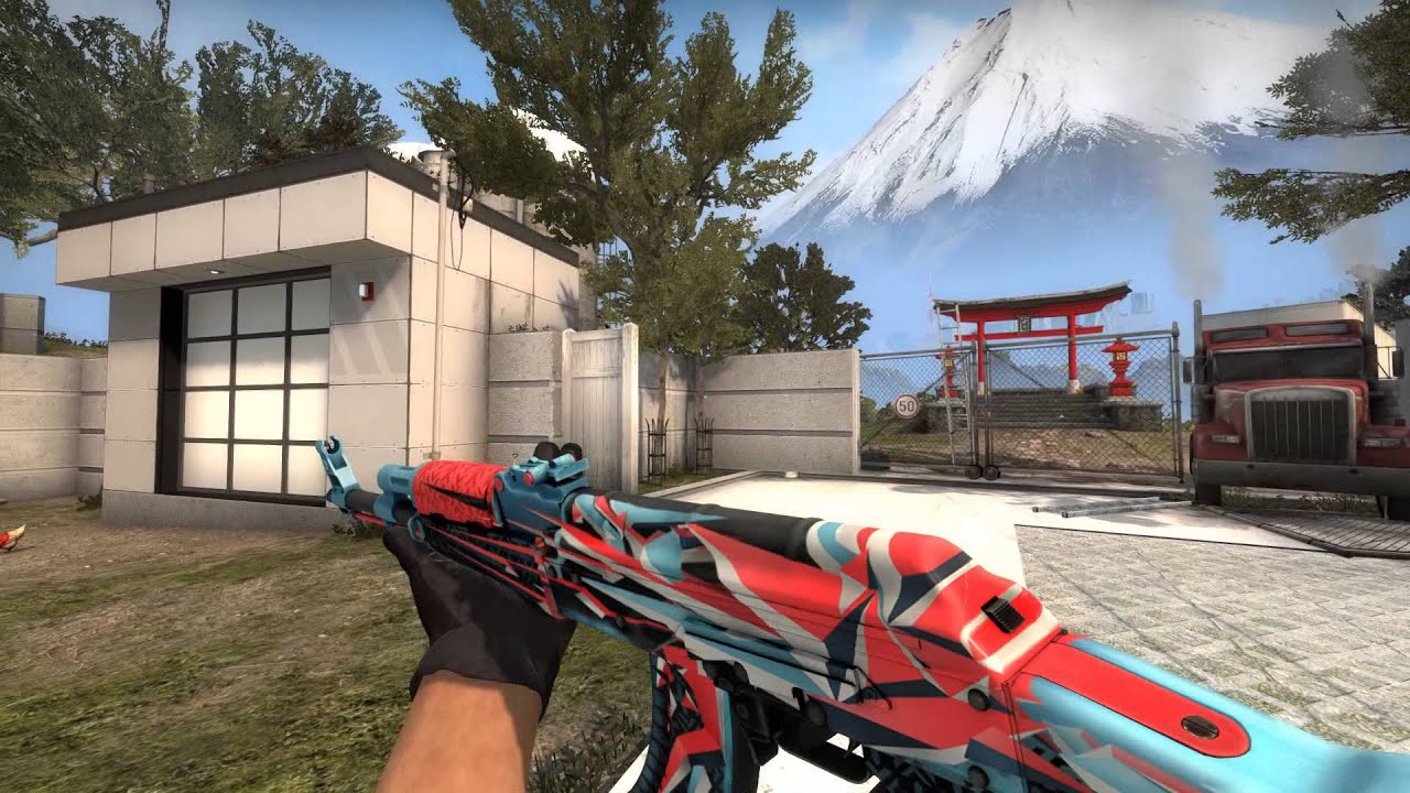 Csgo Update Ak-47 change, new sounds and new - YouTube