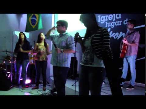 Louvor na Igreja Antioquia de Guadalupe-RJ