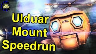Ulduar Mount Speedrun