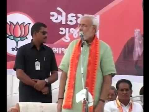 Shri Modi to campaign in Saurashtra and South Gujarat on 1sr December 2012 Veraval