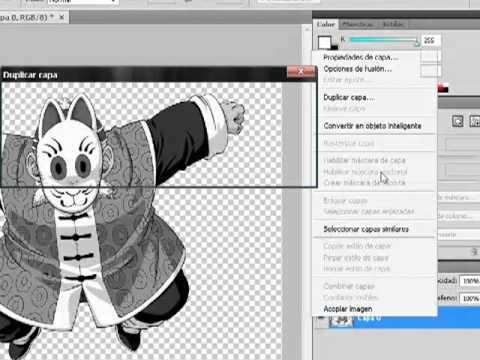 Hacer Dibujos Para Colorear Con Photoshop - YouTube
