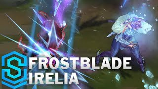 Frostblade Irelia (2018 Rework) Skin Spotlight - Pre-Release - League of Legends thumbnail