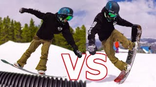 camber VS Rocker Snowboard Test