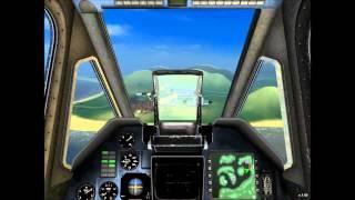 Fair Strike ( war helicopter simulator ) GamePlay Kampan 1 Mise 1 ( Drogy jsou EE ! )