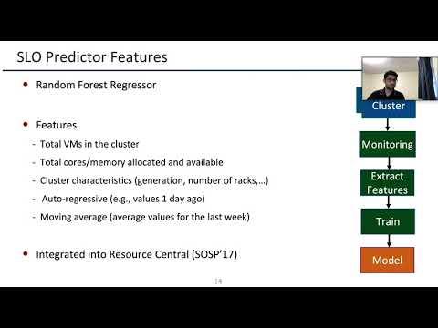 OSDI '20 - Providing SLOs for Resource-Harvesting VMs in Cloud Platforms