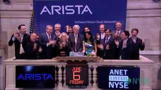 Arista Networks Celebrates IPO on the New York Sto ...