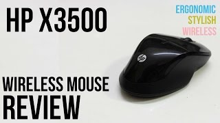 HP X3500 Wireless Mouse review - The Best ergonomic Wireless Mouse?