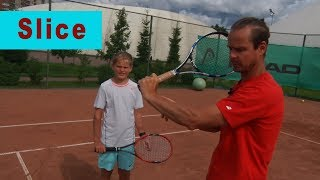 Tennis Backhand Slice