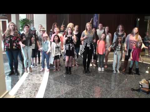 """Caldwell Kids sing """"Forget You"""" at Belmont 2016"""