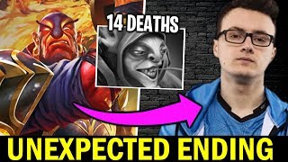 MIRACLE Ember Spirit 100% Counter Pro Meepo — Unexpected Ending Dota 2
