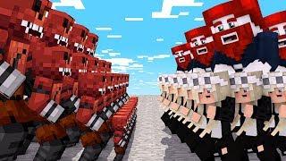 1000 Foxy Zombies wollen uns zerstören.. 😱
