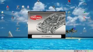 Диагностика Ford Mondeo 3 2006 2.0B CJBA с помощью Forscan и Delphi DS150E