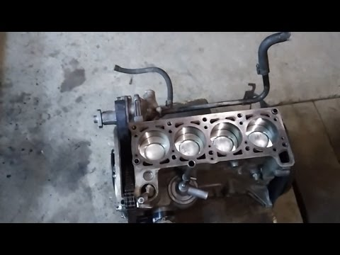 Ремонт двигателя ваз 2123 своими руками видео