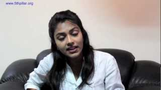 Amala Paul- Film Actor as Youth Ambassador of 5th Pillar, the anti-corruption movement