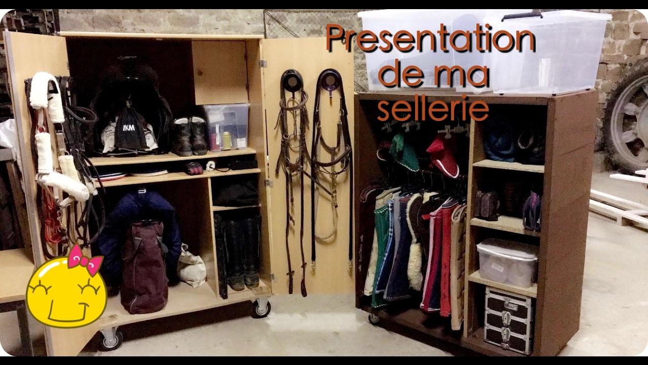 #Astuce# Presentation de ma sellerie - YouTube