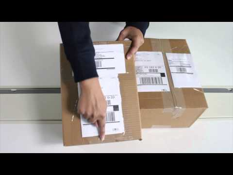 How to Label Small-Parcel Shipments to Ship to Amazon Fulfil