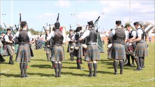 Dunbar 2015 - Stockbridge Pipe Band (Grade 2)