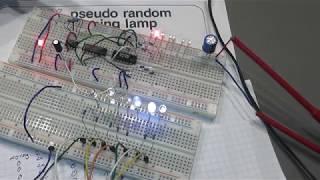Arduino - Pseudo Random Lauflicht (aus Elektor 1978)