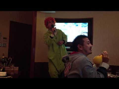 long lost footage of matthew gray gubler in japan singing karaoke while dressed as a turtle