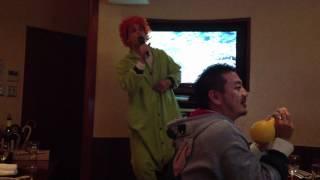 long lost footage of matthew gray gubler in japan singing karaoke while dressed as a turtle